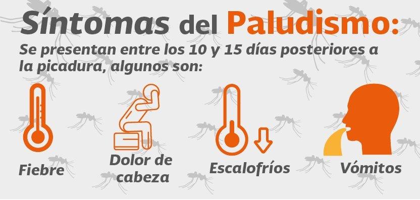 Sintomas del Paludismo